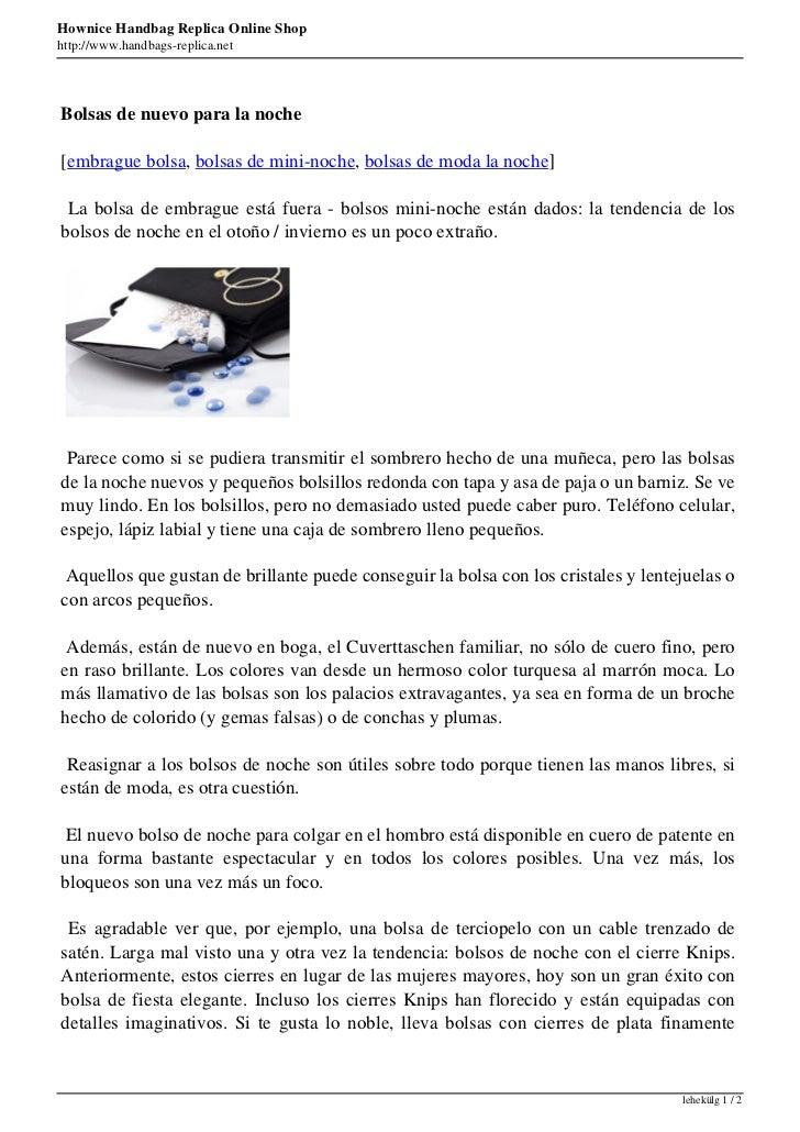Hownice Handbag Replica Online Shophttp://www.handbags-replica.netBolsas de nuevo para la noche[embrague bolsa, bolsas de ...