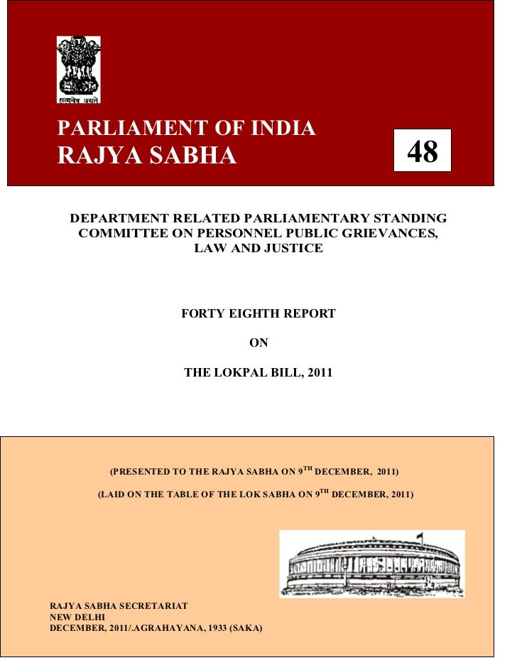 PARLIAMENT OF INDIA RAJYA SABHA                                                      48   DEPARTMENT RELATED PARLIAMENTARY...