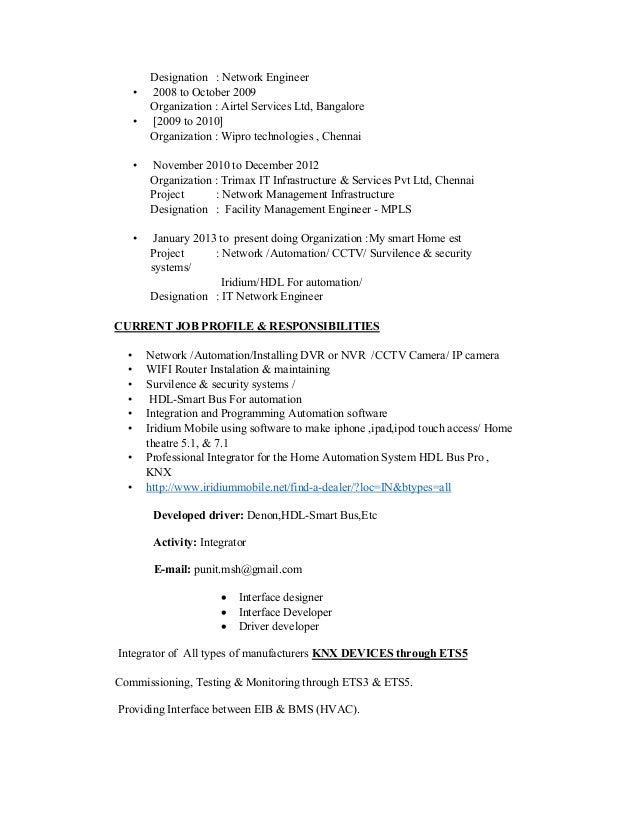 punith resume
