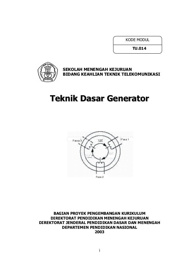 48547671 teknik-dasar-generator