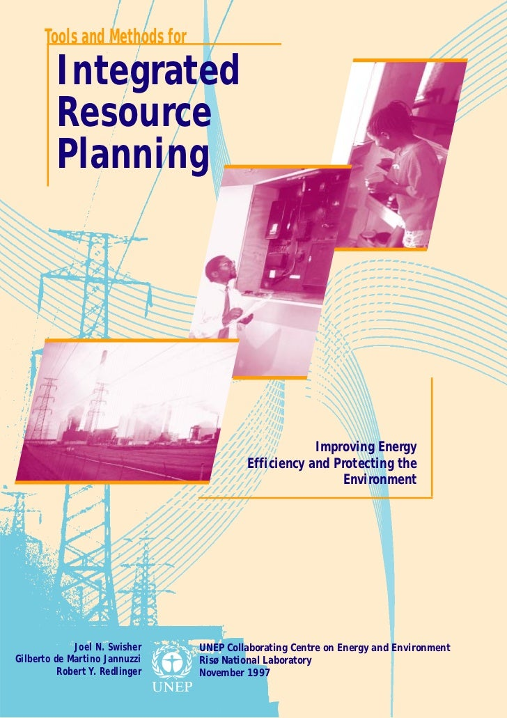 Tools and Methods for         Integrated         Resource         Planning                                                ...