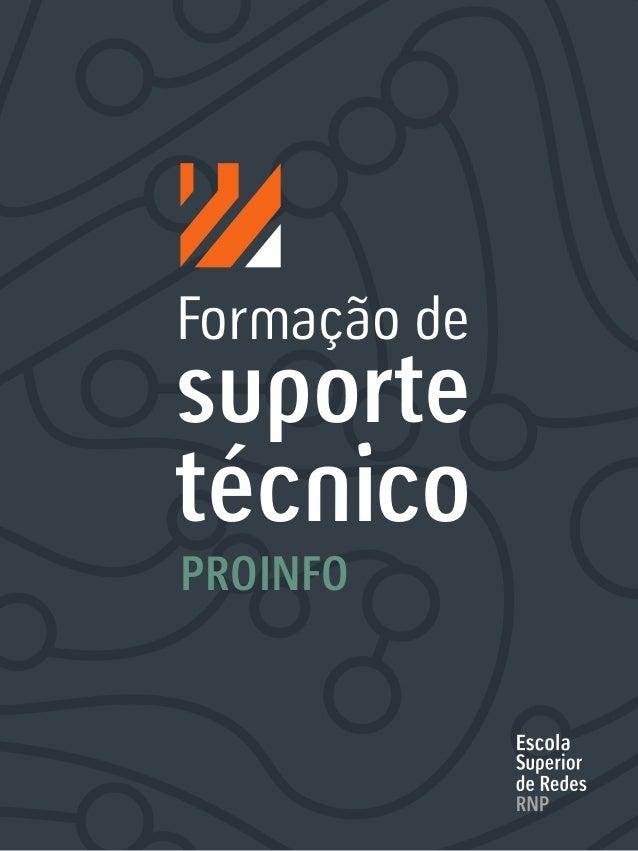 Formação de suporte técnico PROINFO