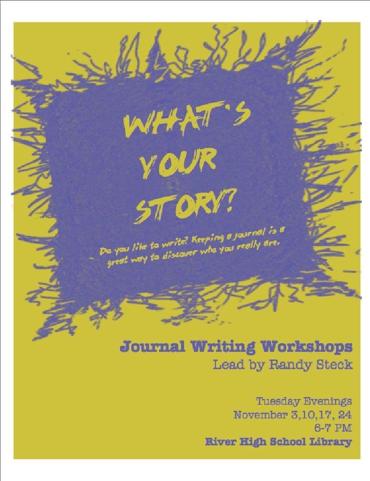 Journaling Flyer