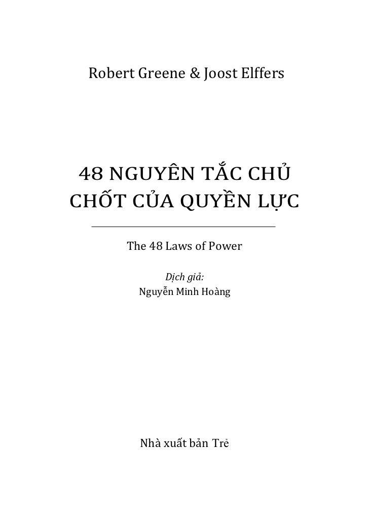 download ebook 48 nguyen tac chu chot cua quyen luc