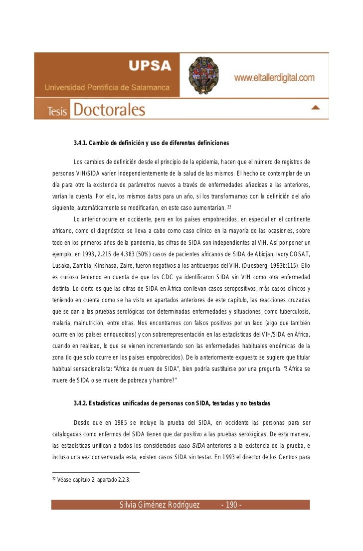 3.4.1. Cambio de definición y uso de diferentes definiciones            Los cambios de definición desde el principio de la...