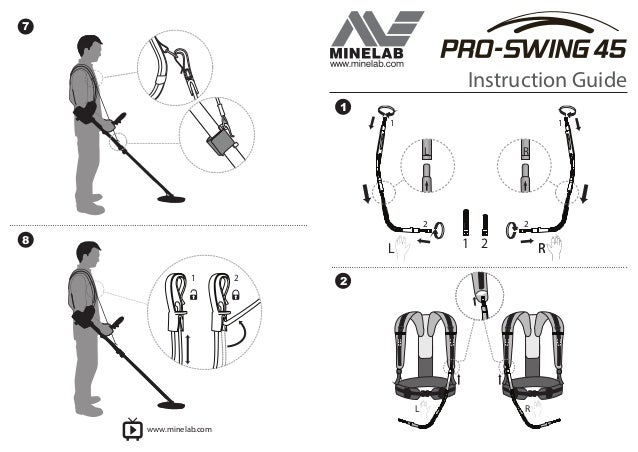 Instruction Manual, Minelab Pro-Swing 45 English Language