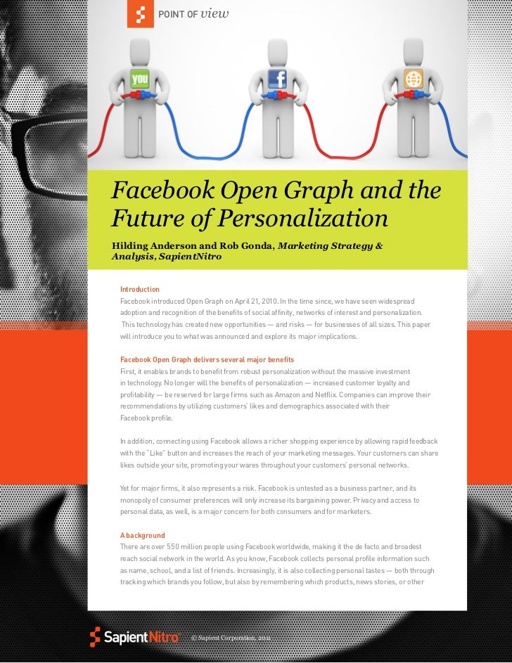 Facebook Open Graph and the Future of Personalization