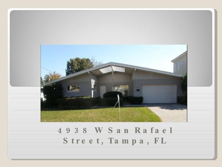 4938 W San Rafael Street, Tampa, FL