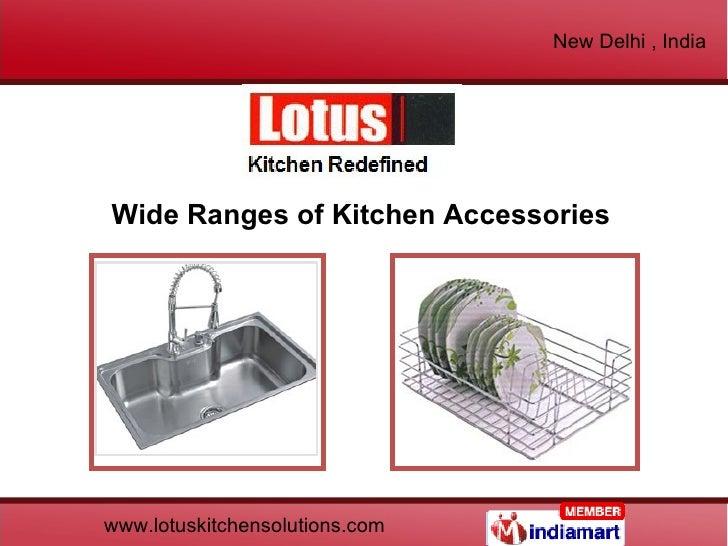 Wide Ranges of Kitchen Accessories