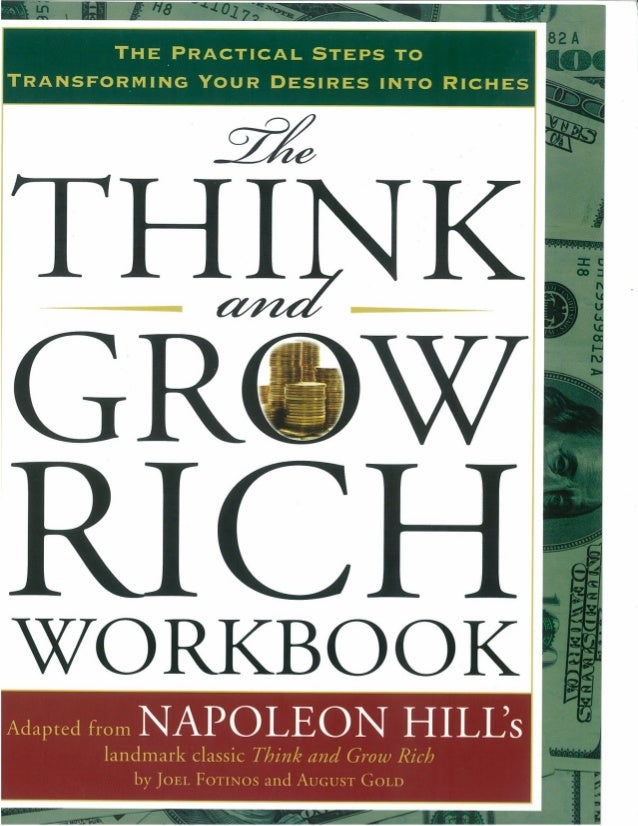 PDF DOWNLOAD Think and Grow Rich BOOK