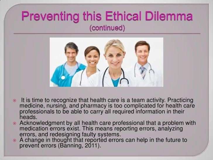 essay on ethical dilemma in nursing