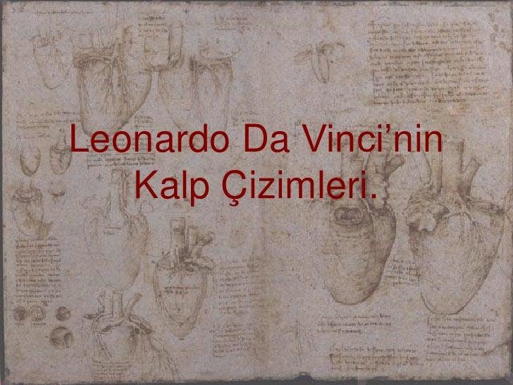 Leonardo Da Vinci'ninKalpÇizimleri. <br />