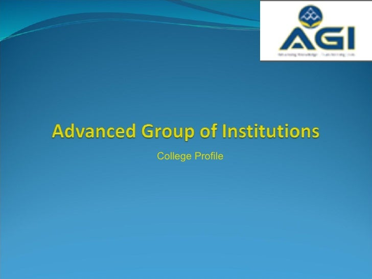 Advanced Group of Institutions