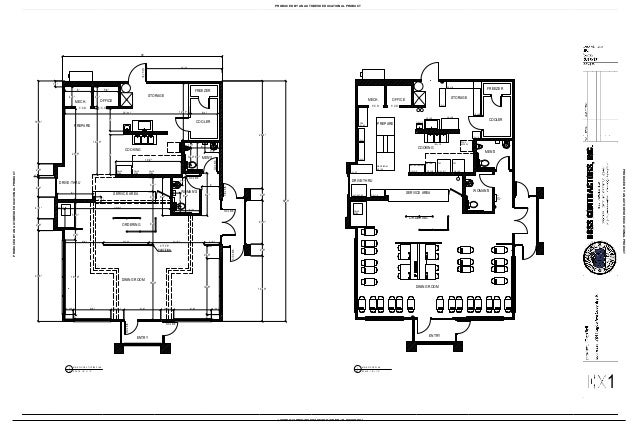 As built coventry ri taco bell main floor plan utilities for Floor plan agreement