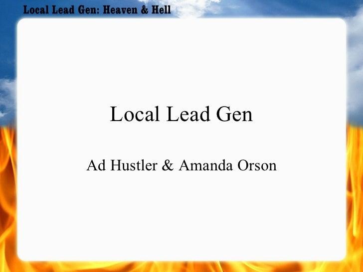 Local Lead Gen Ad Hustler & Amanda Orson