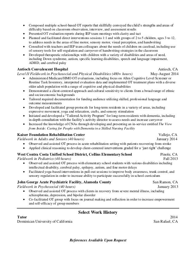 liza henty clark pediatric resume