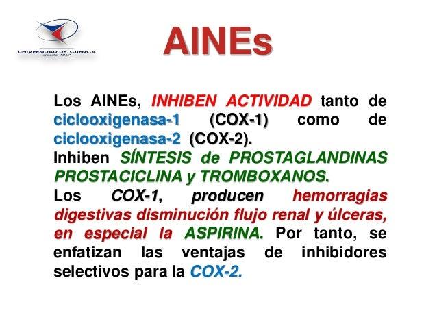 analgesicos antitermicos y antiinflamatorios no esteroideos