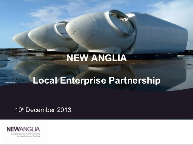 New Anglia - Local Enterprise Partnership