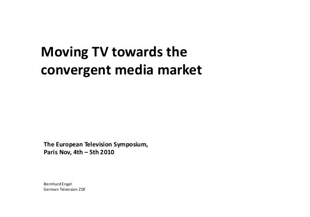 Moving towards the convergent media market