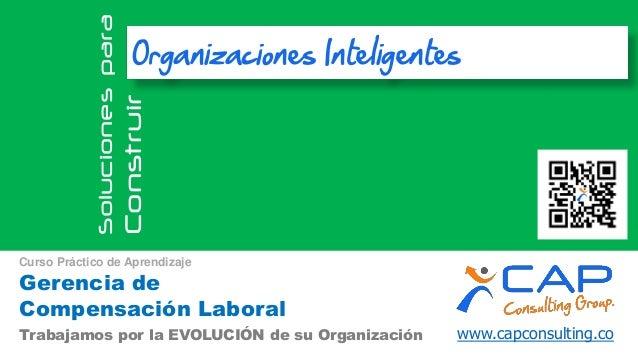www.capconsulting.coTrabajamos por la EVOLUCIÓN de su Organización Solucionespara Construir Organizaciones Inteligentes Ge...