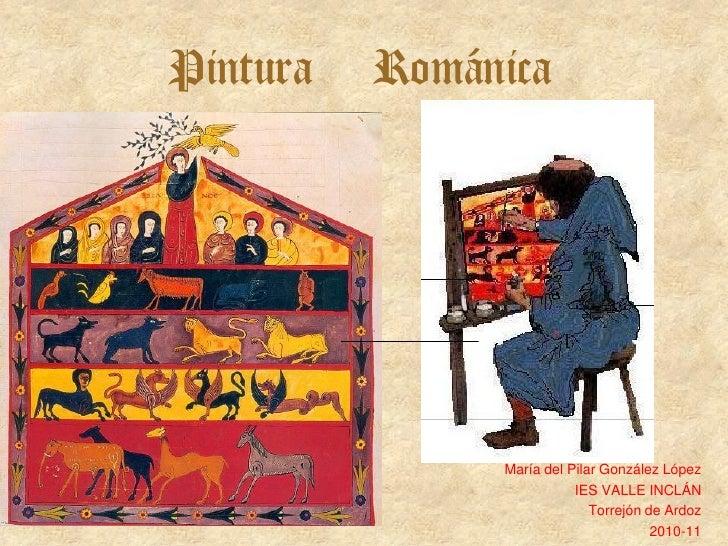 4 arte románico pintura general