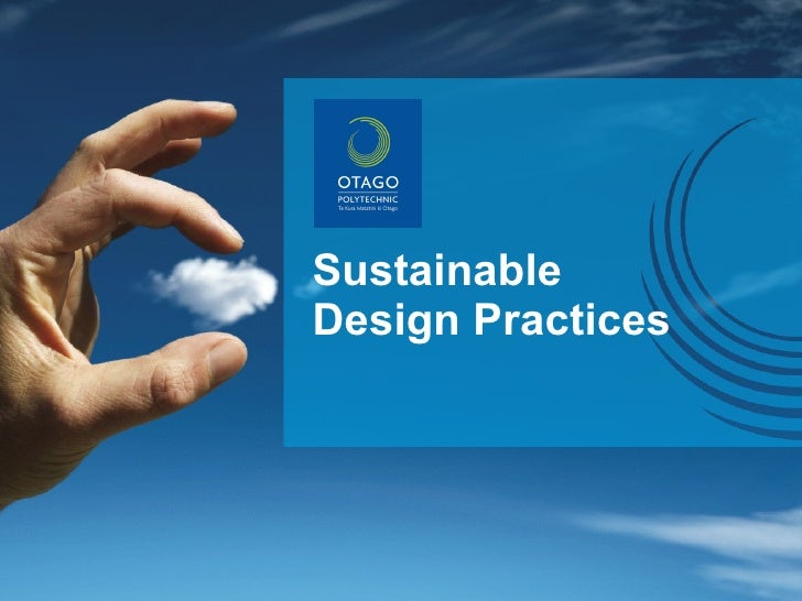 Sustainable Design Practices