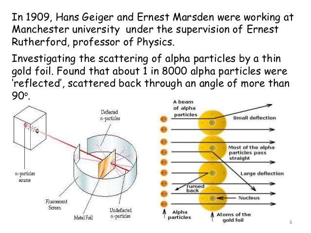Ernest Marsden Atomic Theory