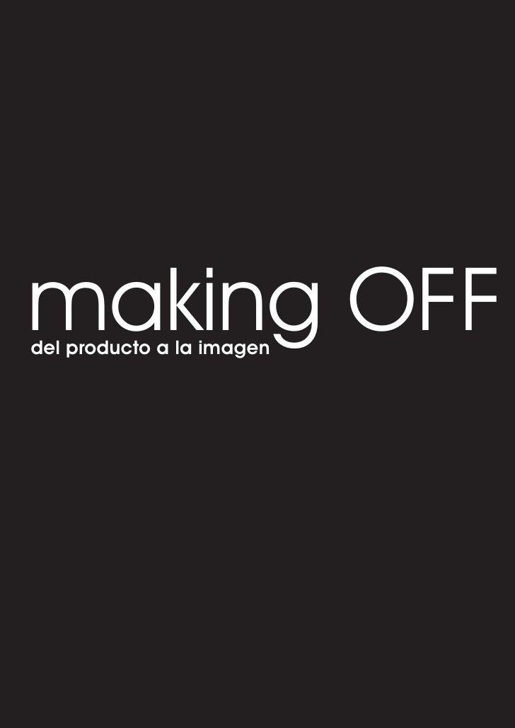 making OFF del producto a la imagen