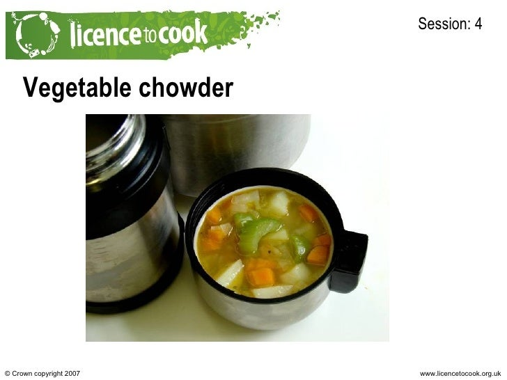 4a Vegetable Chowder