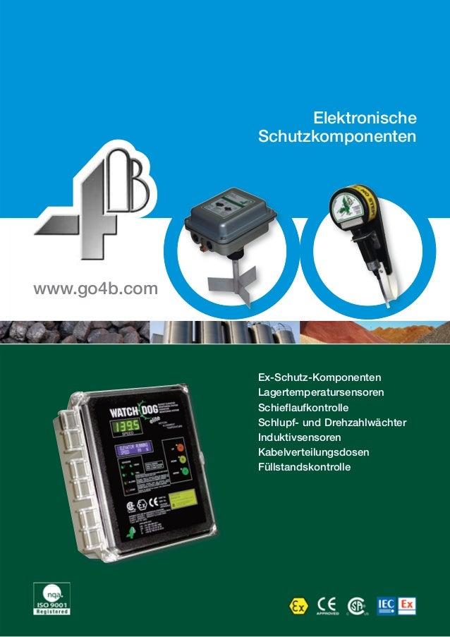 Elektronische  Schutzkomponenten  Ex-Schutz-Komponenten  Lagertemperatursensoren  Schieflaufkontrolle  Schlupf- und Drehza...