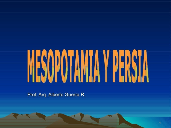4 b  mesopotamia y persia