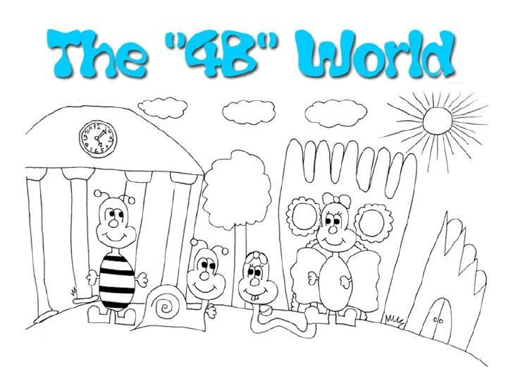 The beautiful 4B World !