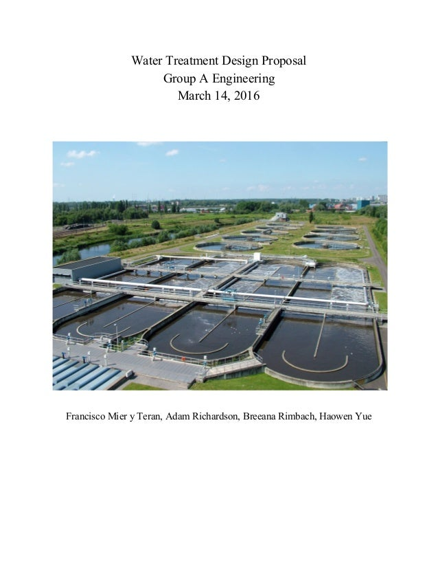 Water Treatment Plant Design : Water treatment plant design cee b