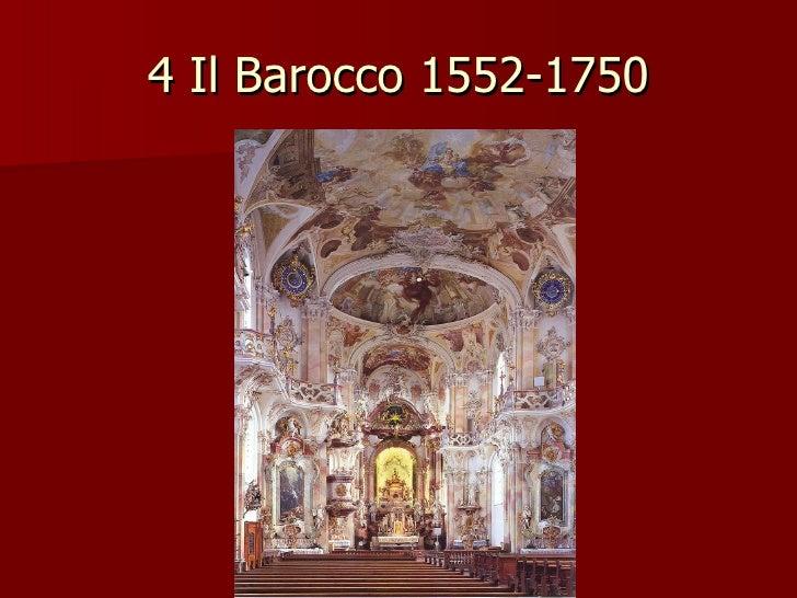 4 Il Barocco 1552-1750