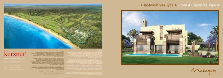4 Bedroom Villa Type A ~ Villa 4 Chambres Type A - Mazagan Beach Resort, El Jadida, Casablanca, Morocco