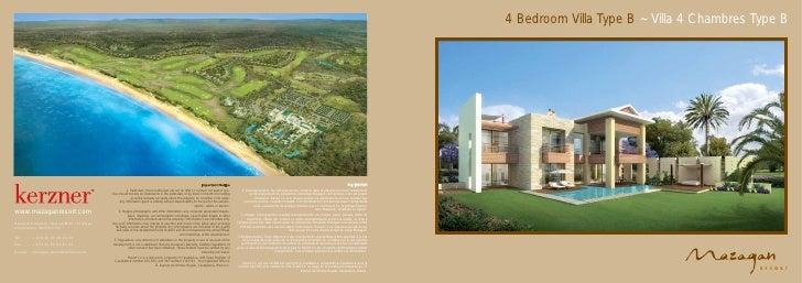 4 Bedroom Villa Type B ~ Villa 4 Chambres Type B                                                                          ...