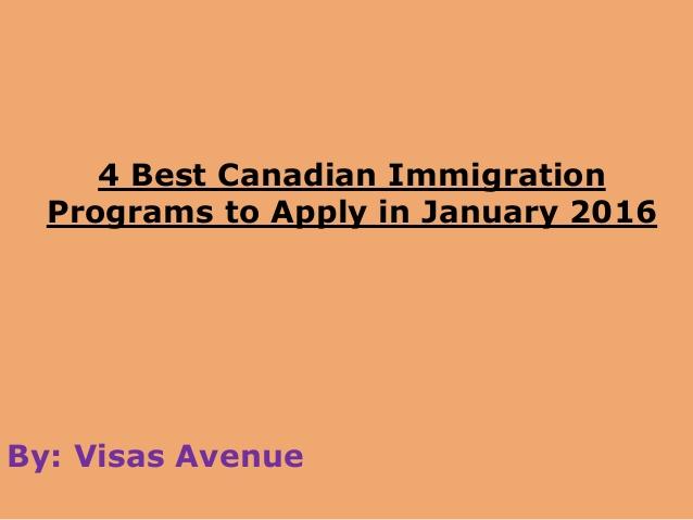 Immigrants In Canada 2012