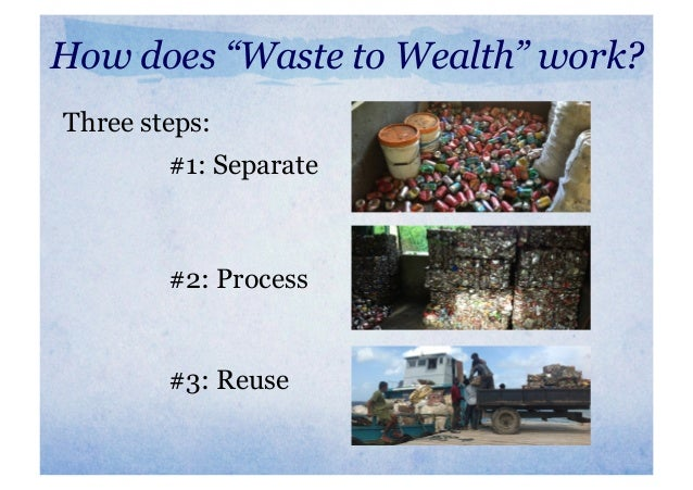 4c call webinar series for the long run waste to wealth for Easy wealth out of waste