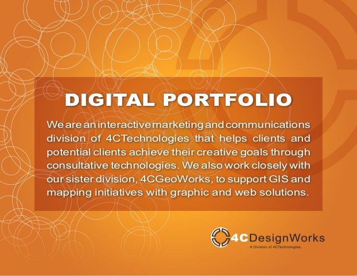 4CDesignWorks Digital Portfolio