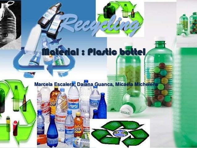 Plastic Recycling (4c Escalera Michelena Guanca)