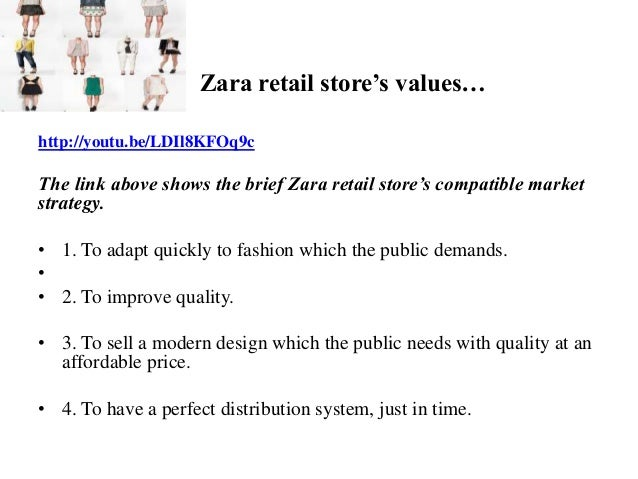 strategic management h m and zara This thesis focused on the strategic management of h&m company the main  research problem  46 comparison between h&m and zara.