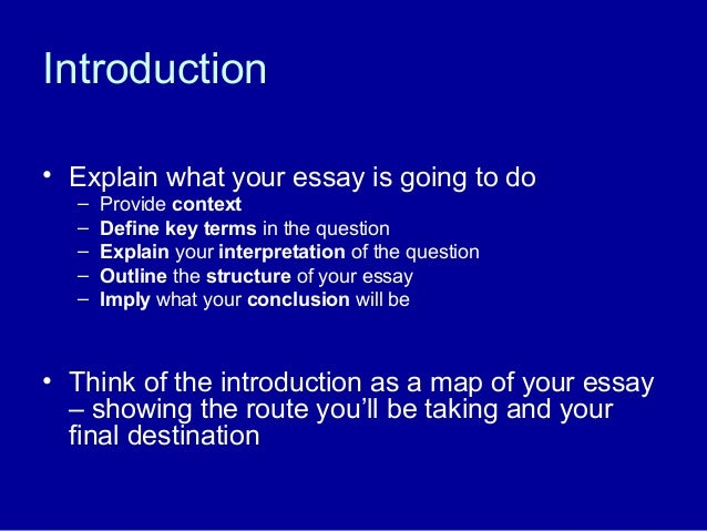 introductions and conclusions for essays Introductions and conclusions play a special role in the academic essay, and they frequently demand much of your attention as a writer a good introduction should identify your topic, provide essential context, and indicate your particular focus in the essay.