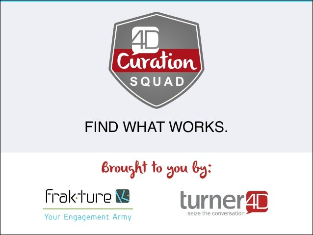 4D Curation Squad – Curious About Content Curation?
