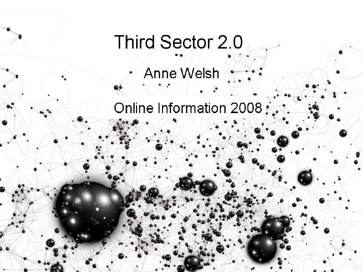 Third Sector 2.0