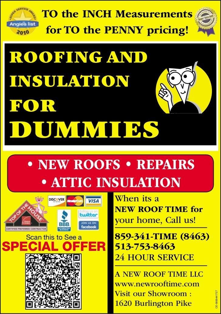 Roofing dummies