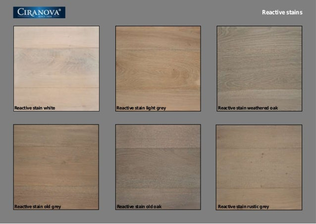 1 Oak Flooring Weathered Stain
