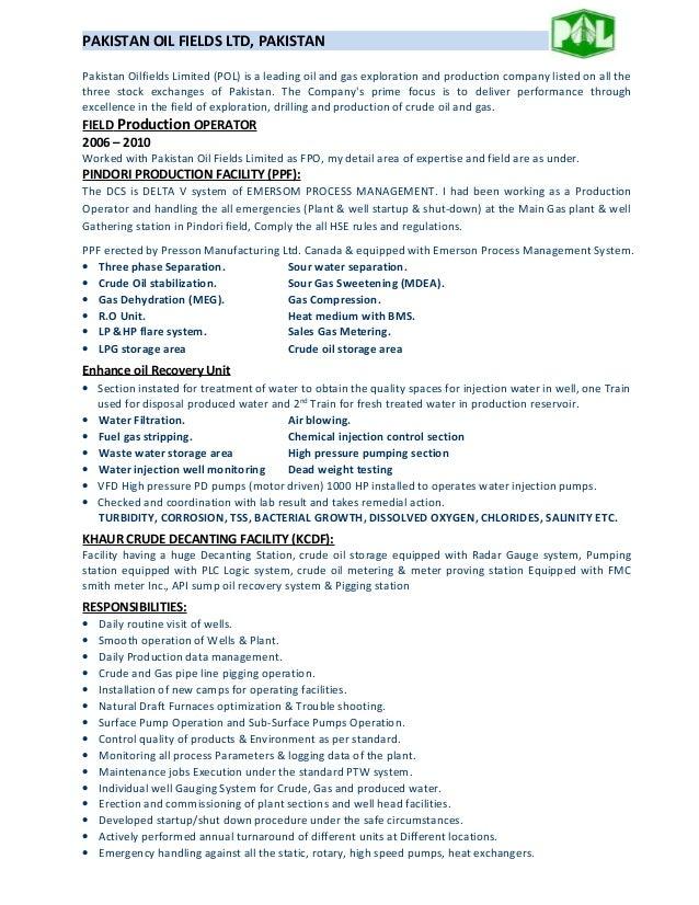 cnc operator resume