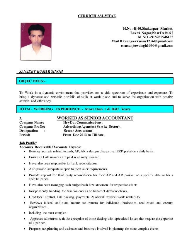 Sanjeev Updated Resume