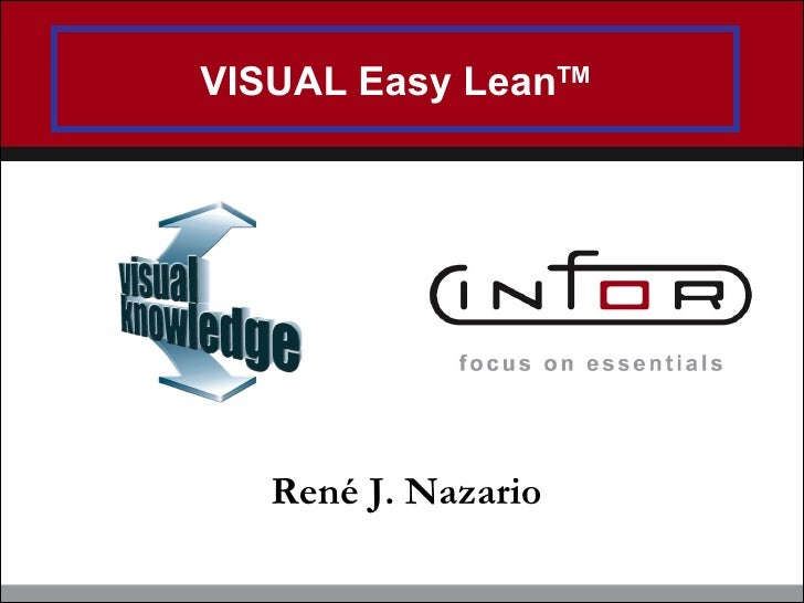 VISUAL Easy Lean TM Ren é J. Nazario