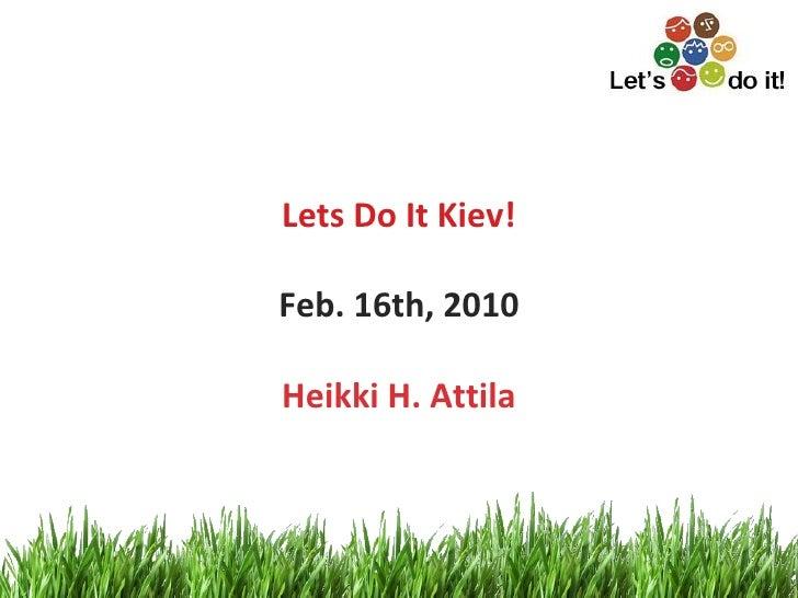 Let's do it Kyiv!